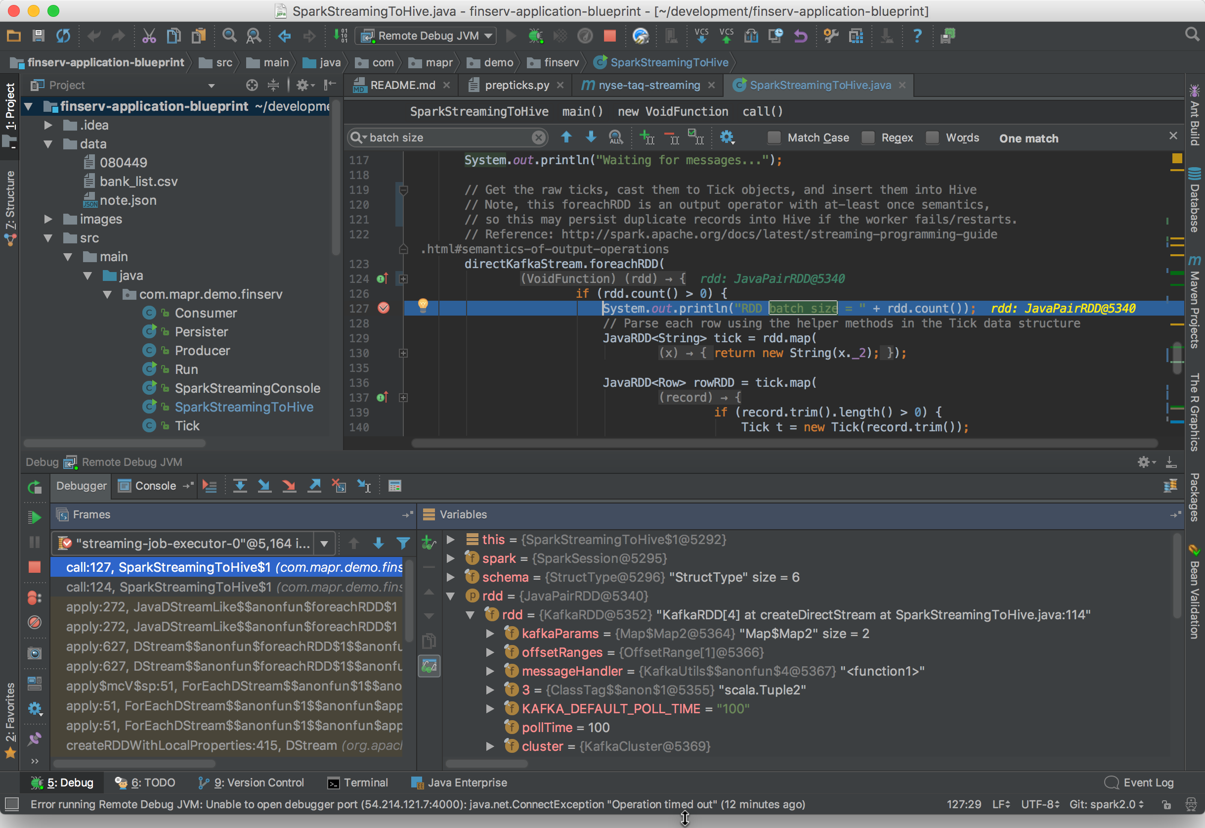 IntelliJ Debugger
